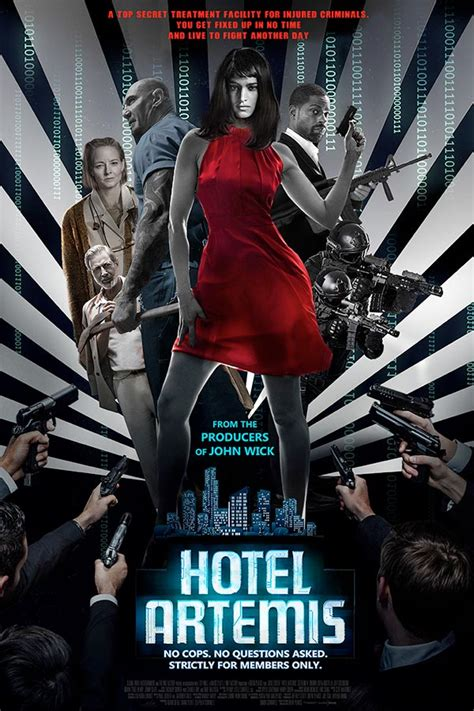 User Reviews for Hotel Artemis   ClickTheCity Movies