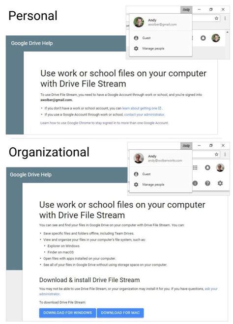 How to use Chrome with more than one Google account