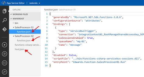 Using Azure Functions Premium to process sales orders