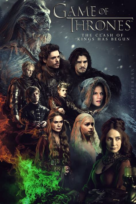 Game Of Thrones Season 7 Official Posters | Game of