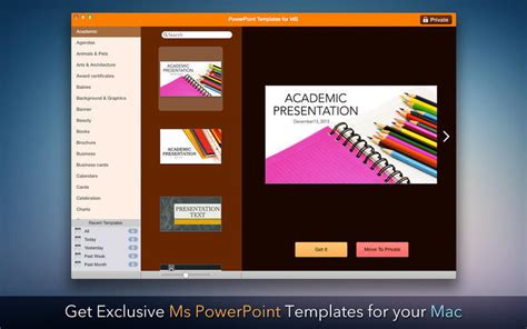 Templates for Microsoft PowerPoint 1