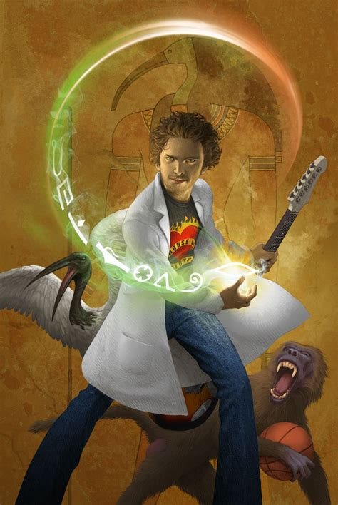 Kane Chronicles Character - Thoth -----> Thoth is supposed