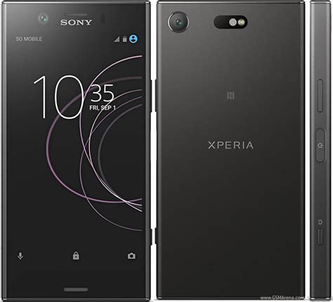 Sony Xperia XZ1 Compact pictures, official photos