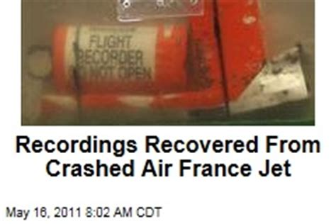 Air France Flight 447 – News Stories About Air France