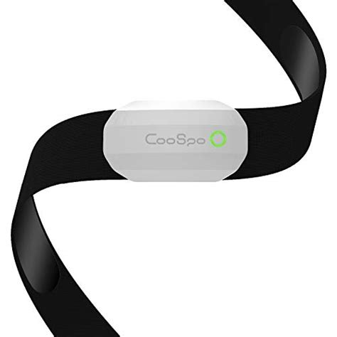 CooSpo Fitness Tracker Ant+ Heart Rate Monitor Chest Strap