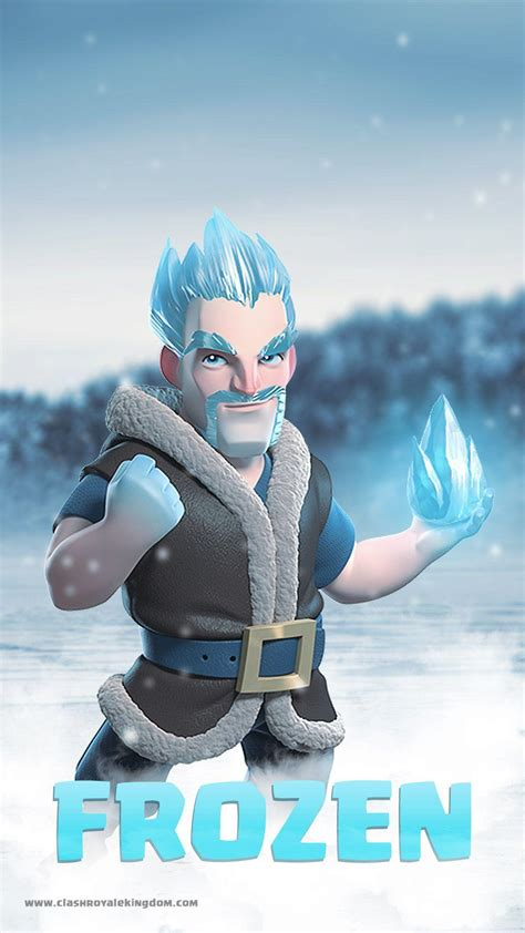Clash Royale Ice Wizard Wallpapers - Wallpaper Cave