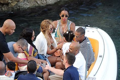 Beyonce cuddles daughter Blue Ivy with Jay-Z and BFF Kelly