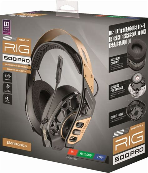 Plantronics RIG 500 Pro – Review – Proven Gamer