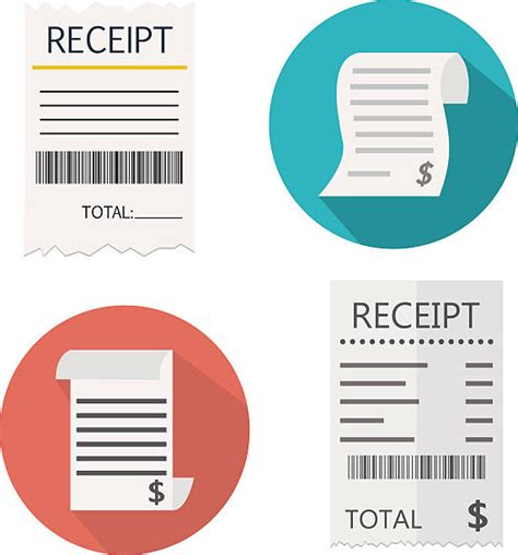 Royalty Free Receipt Clip Art, Vector Images