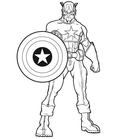 Avengers Logo Coloring Pages at GetColorings