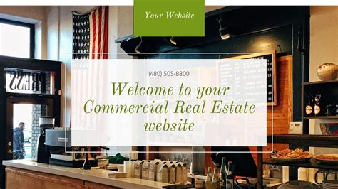 Commercial Real Estate Website Templates | GoDaddy