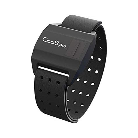 CooSpo Waterproof Armband Heart Rate Monitor with