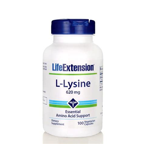 L-Lysin 620mg – Academy of Nature