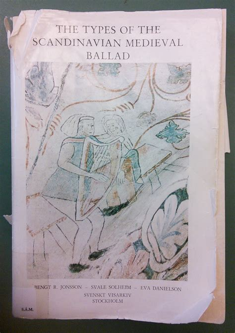 The Types of the Scandinavian Medieval Ballad - Wikipedia