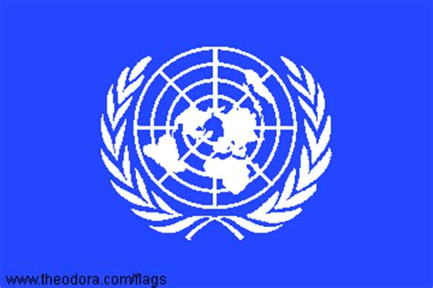 United Nations Flags geographic