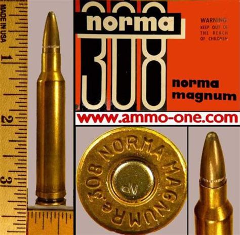 308 Norma Mag Magnum ammo ammunition for sale NP 180 grain