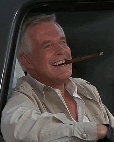 John Hannibal Smith – George Peppard – and his cigar – The