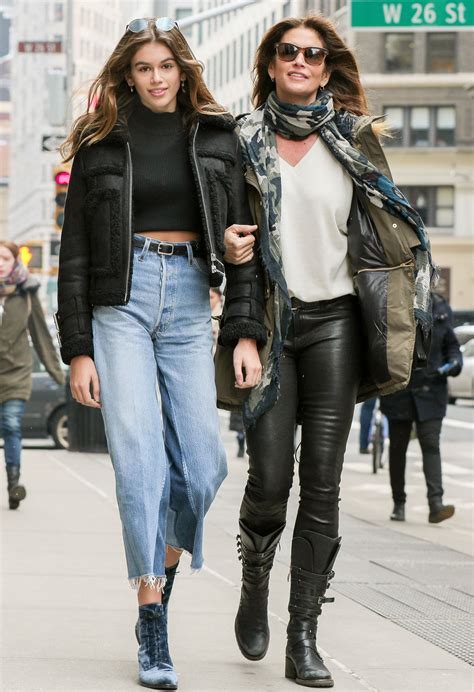 Cindy Crawford and Kaia Gerber Are Mother-Daughter Fashion